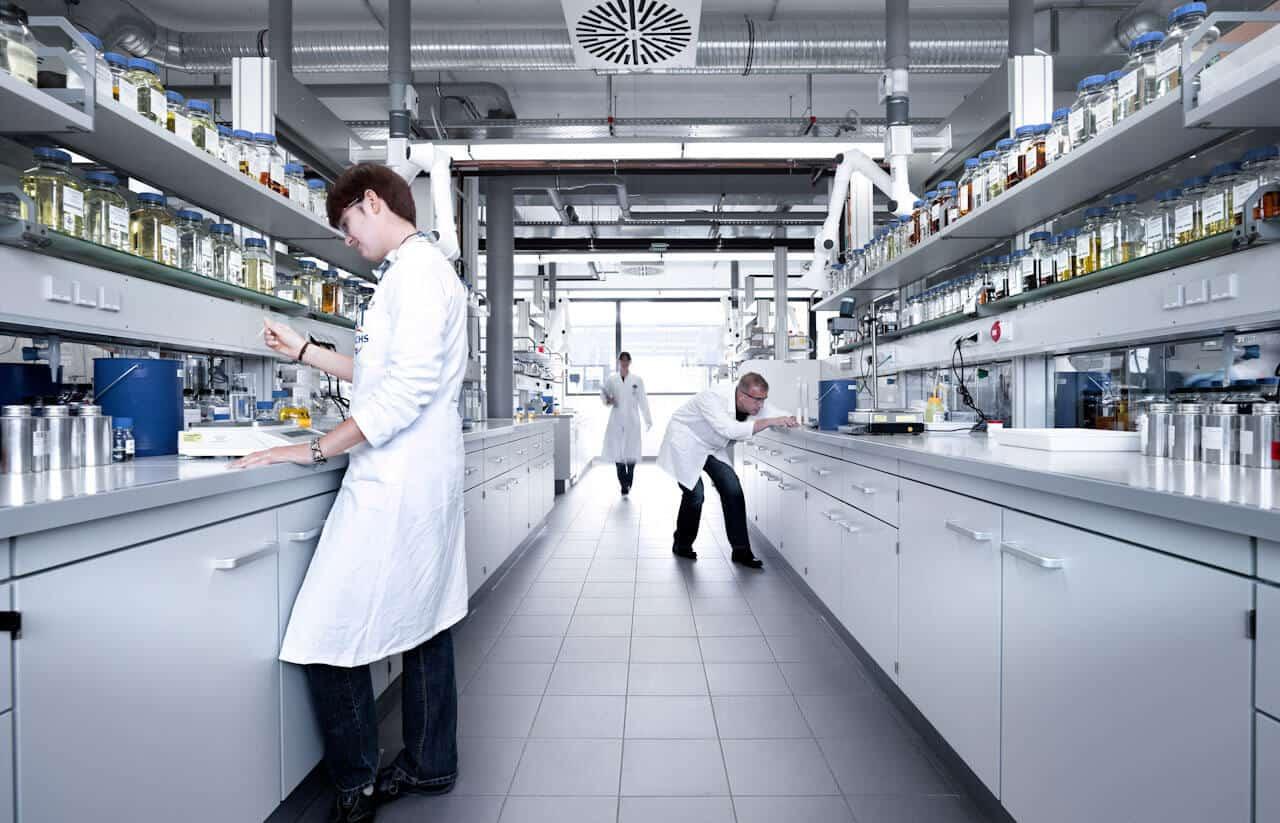 Fuchs Petrolub Forschungslabor