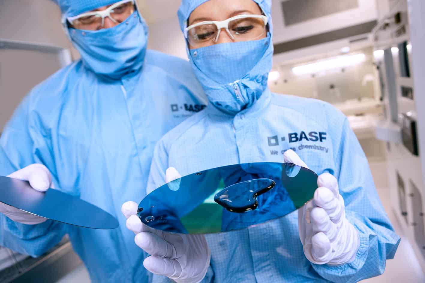 BASF Chemiker