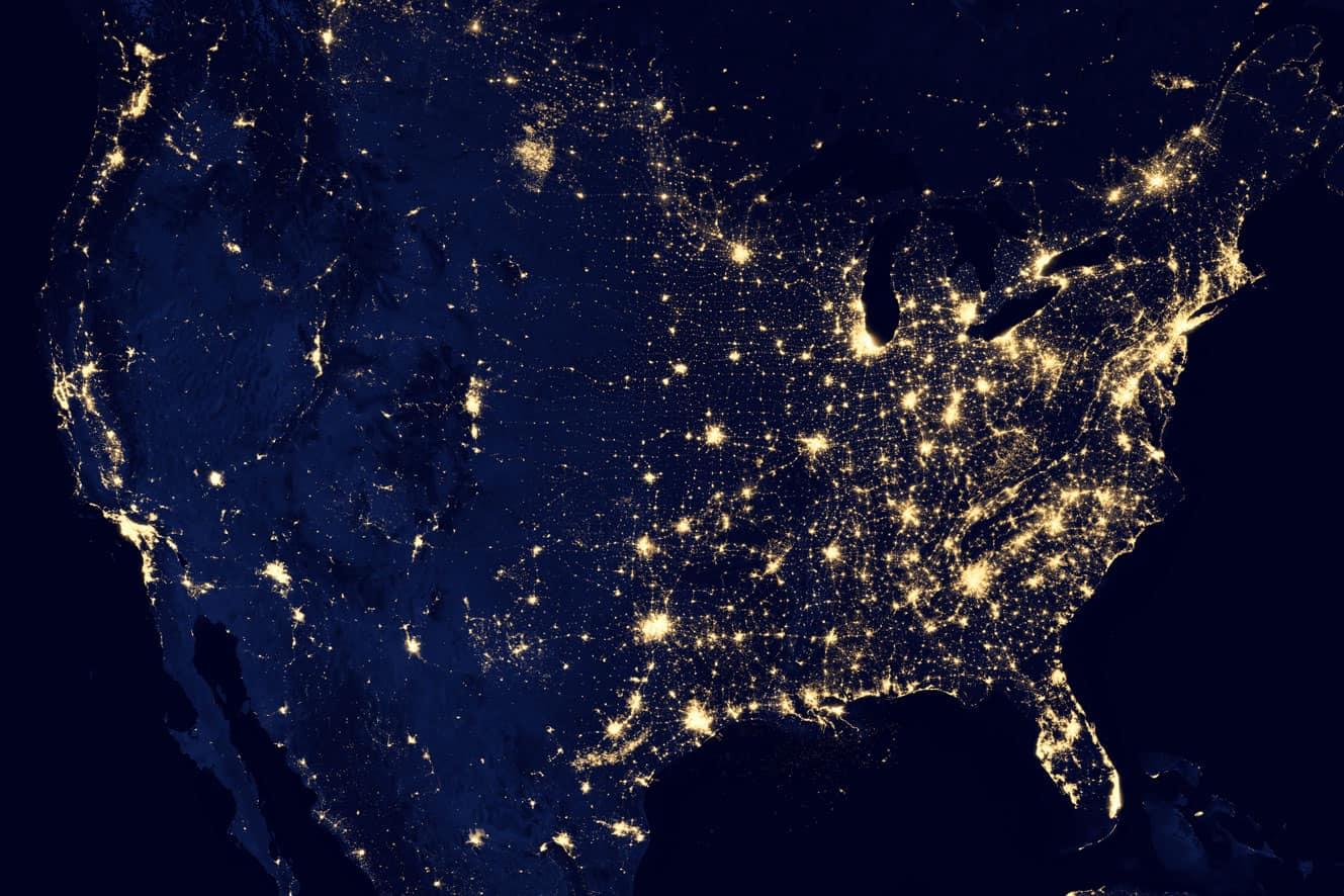 Weltweite Vernetzung aus NASA-Sicht