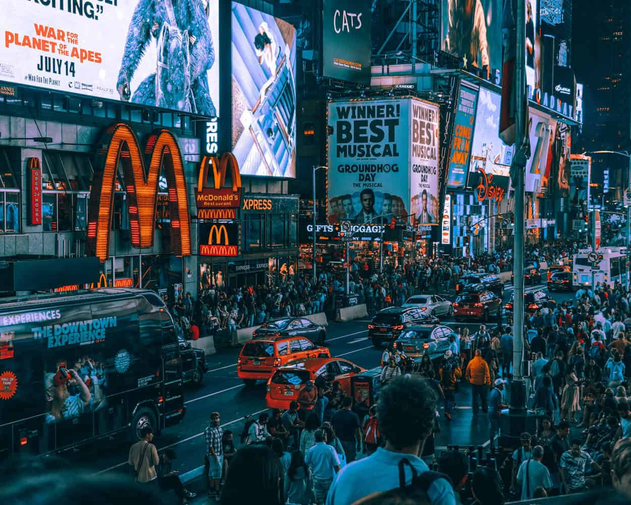 McDonalds am Times Square New York
