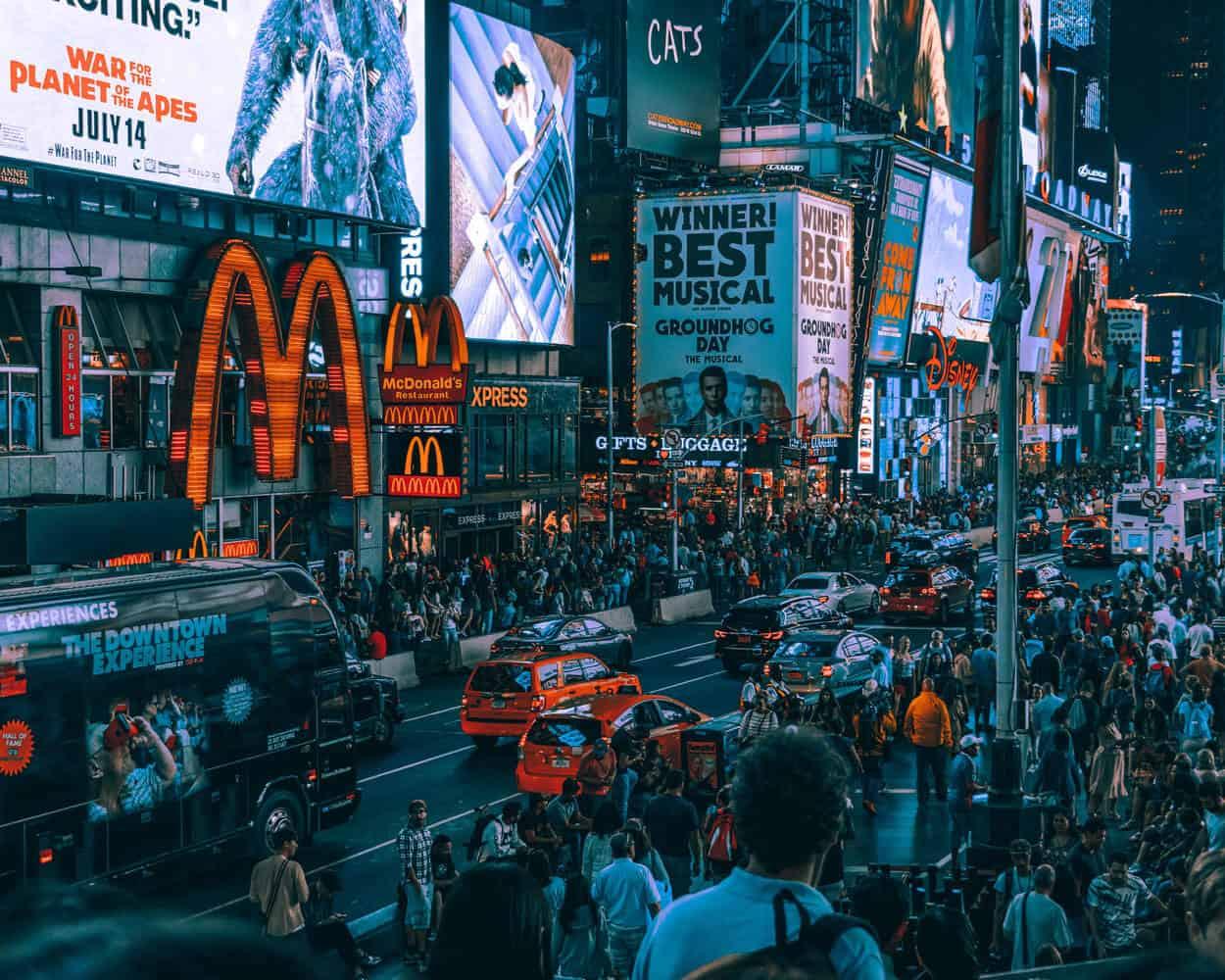 McDonalds am Times Square New York