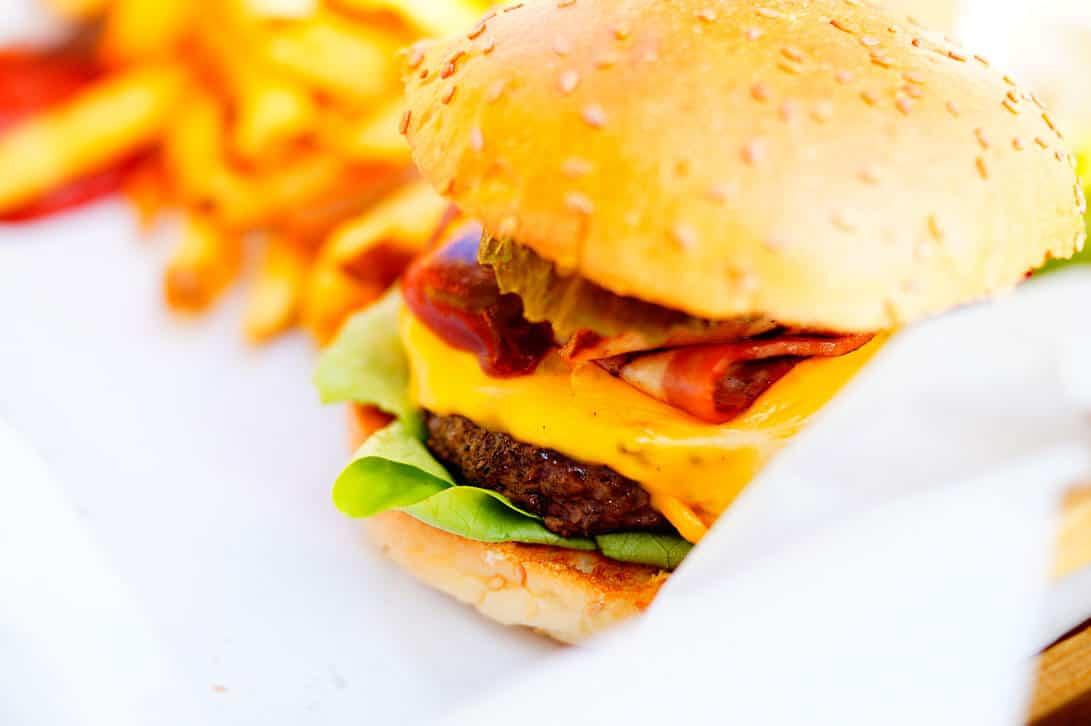 Burger von McDonalds