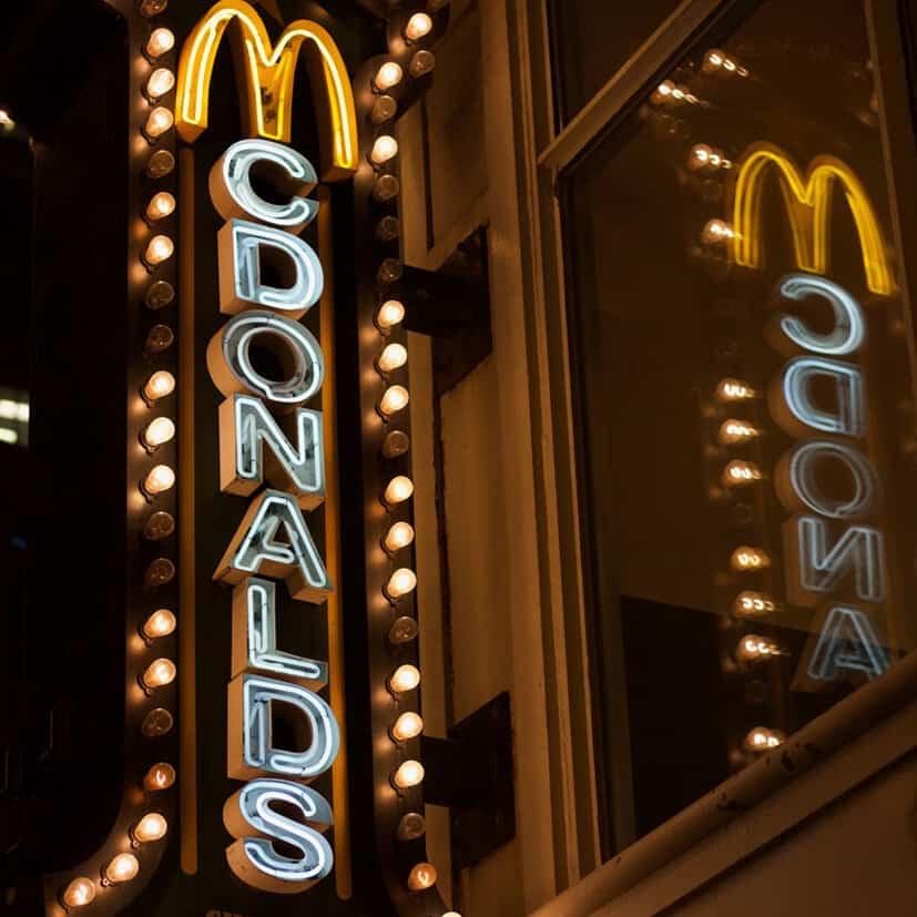 McDonalds Schild