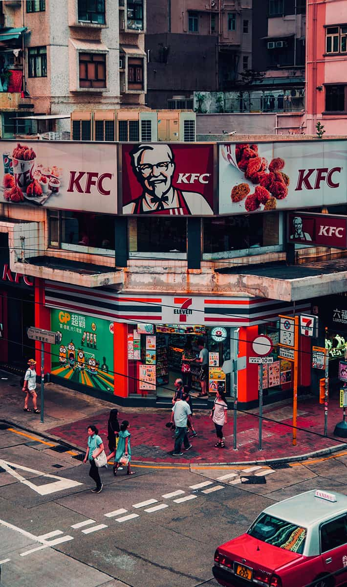 KFC in Hong Kong