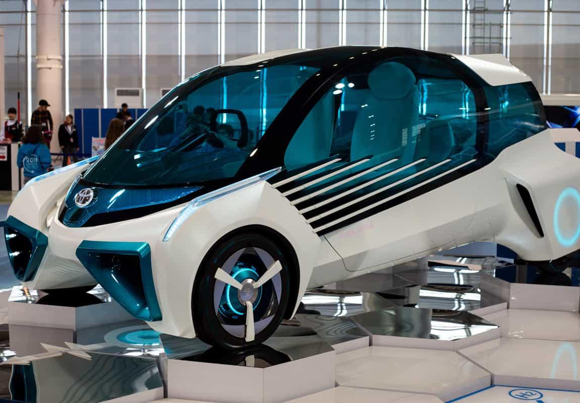 Wasserstoffauto von Toyota - betankt mit Air Liquide