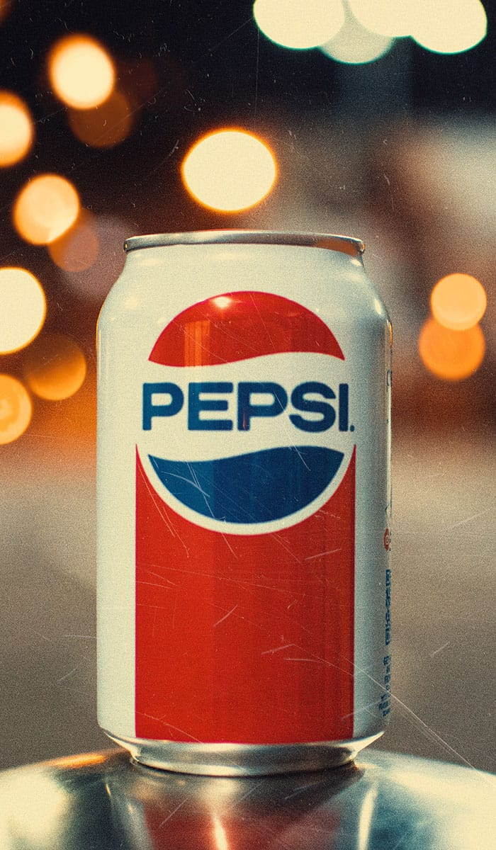 Retro Pepsi Cola Dose