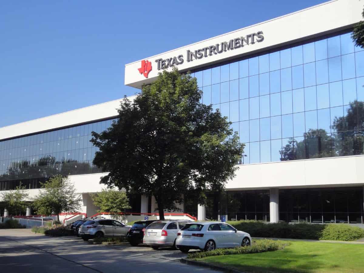 Deutsche Texas Instruments Zentrale in Freising