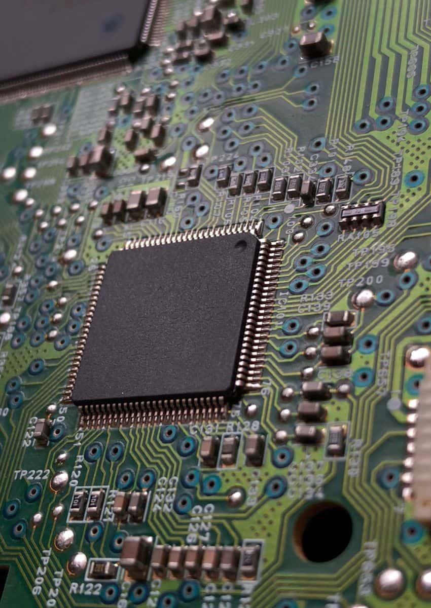 Platine von Texas Instruments