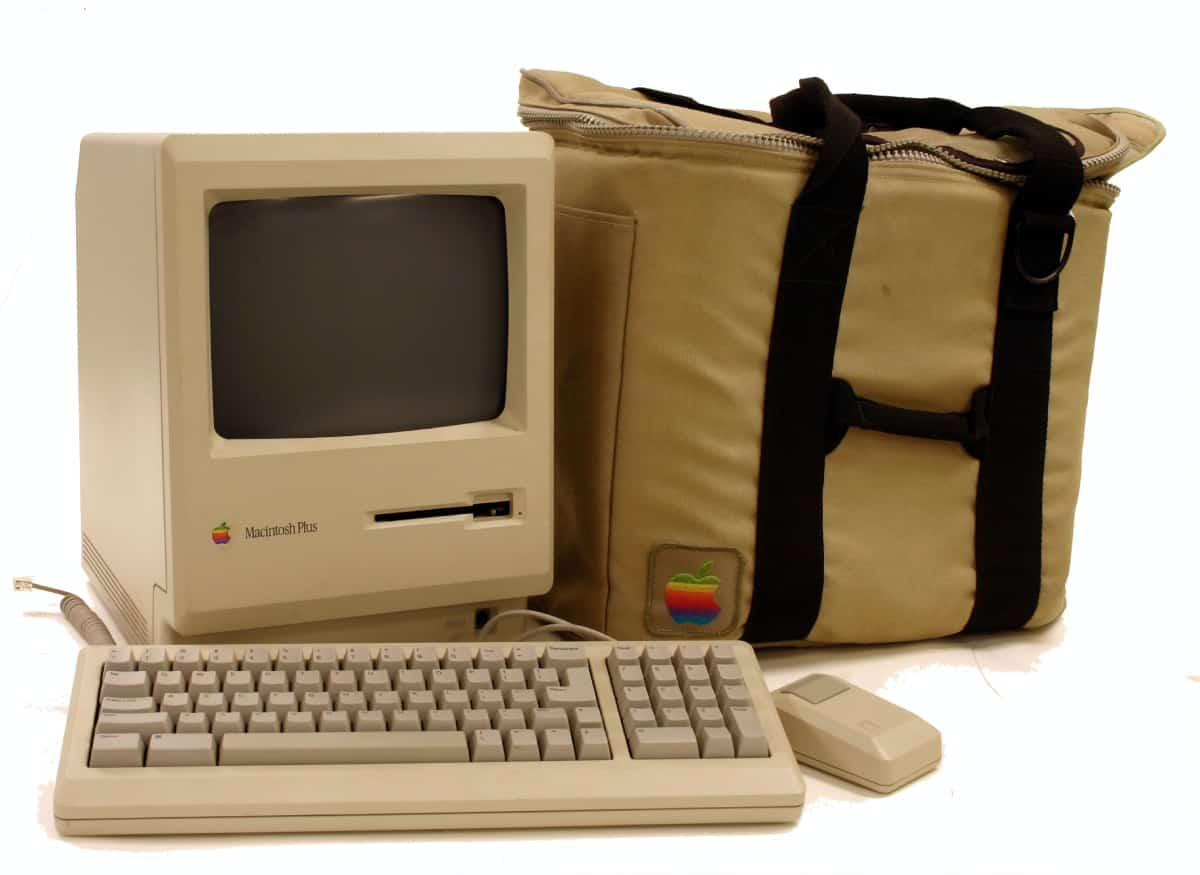 Macintosh Plus - Apple Vintage Produkt