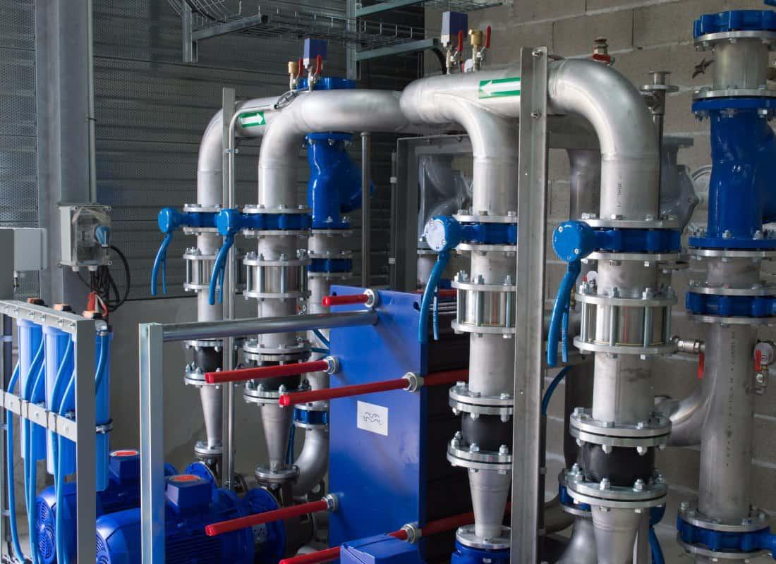 Wasserpumpanlage von American States Water