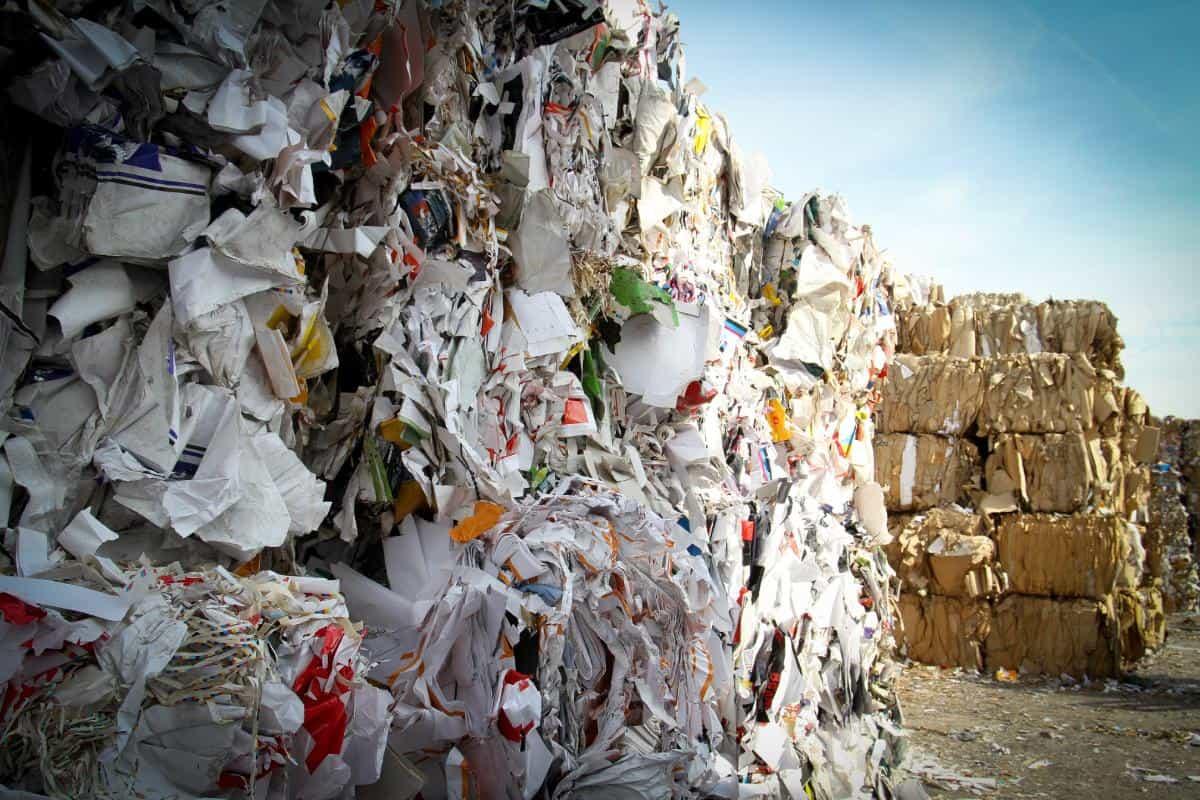 Müll-Deponie von Waste Management