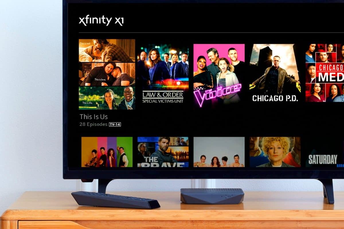 Fernsehprogramme von Comcast
