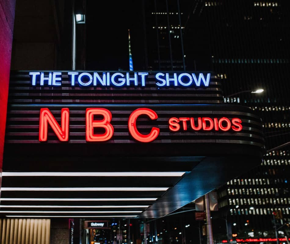 NBC Studios in NY City