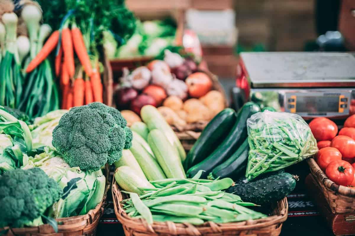 Gemüselieferung von Sysco