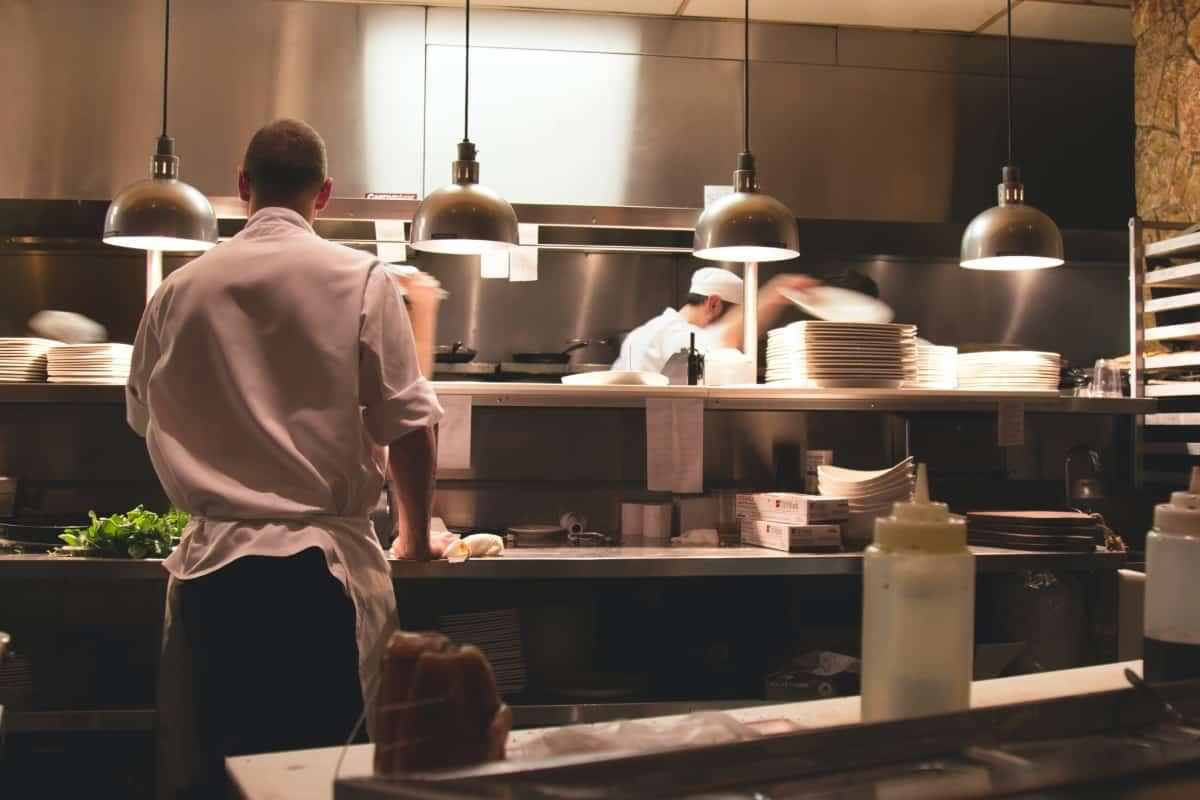 Restaurantkunde von Sysco