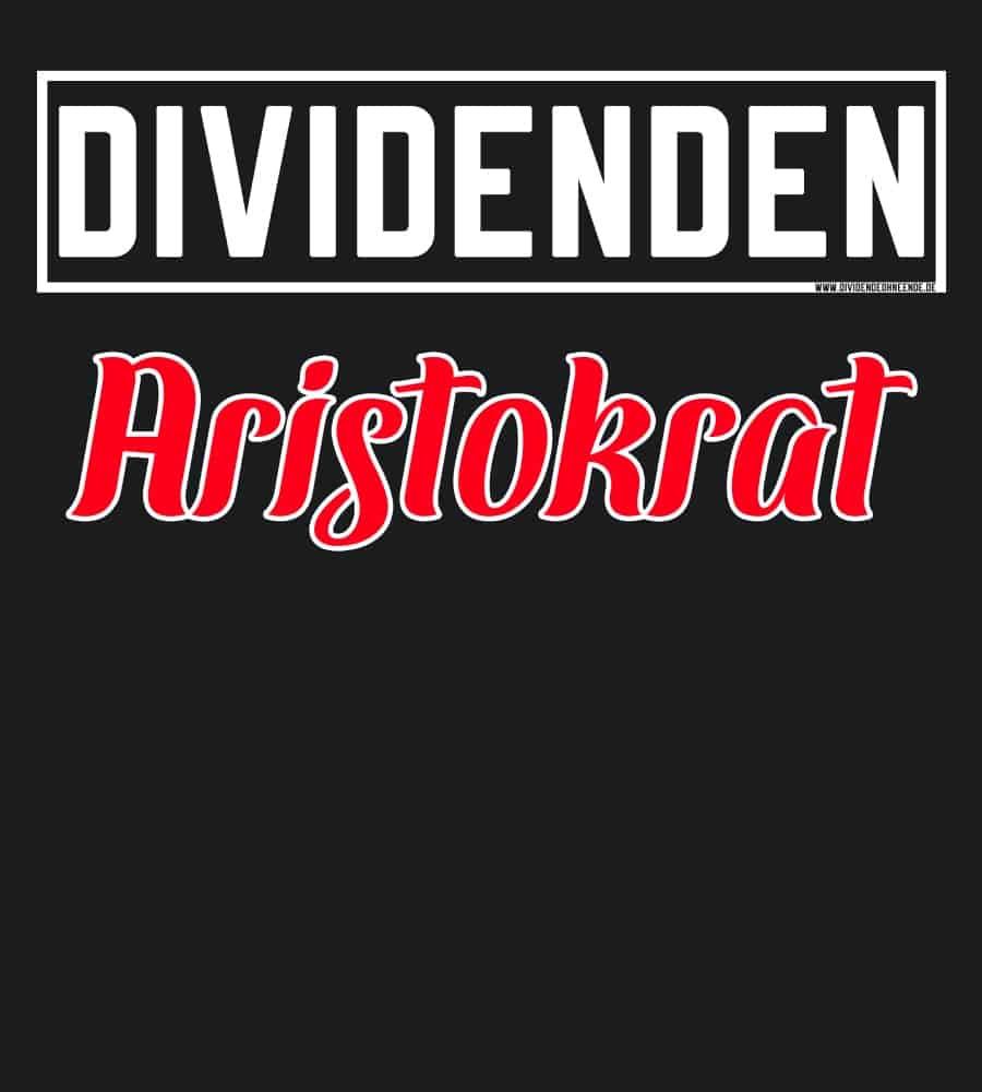 Dividenden Aristokrat black