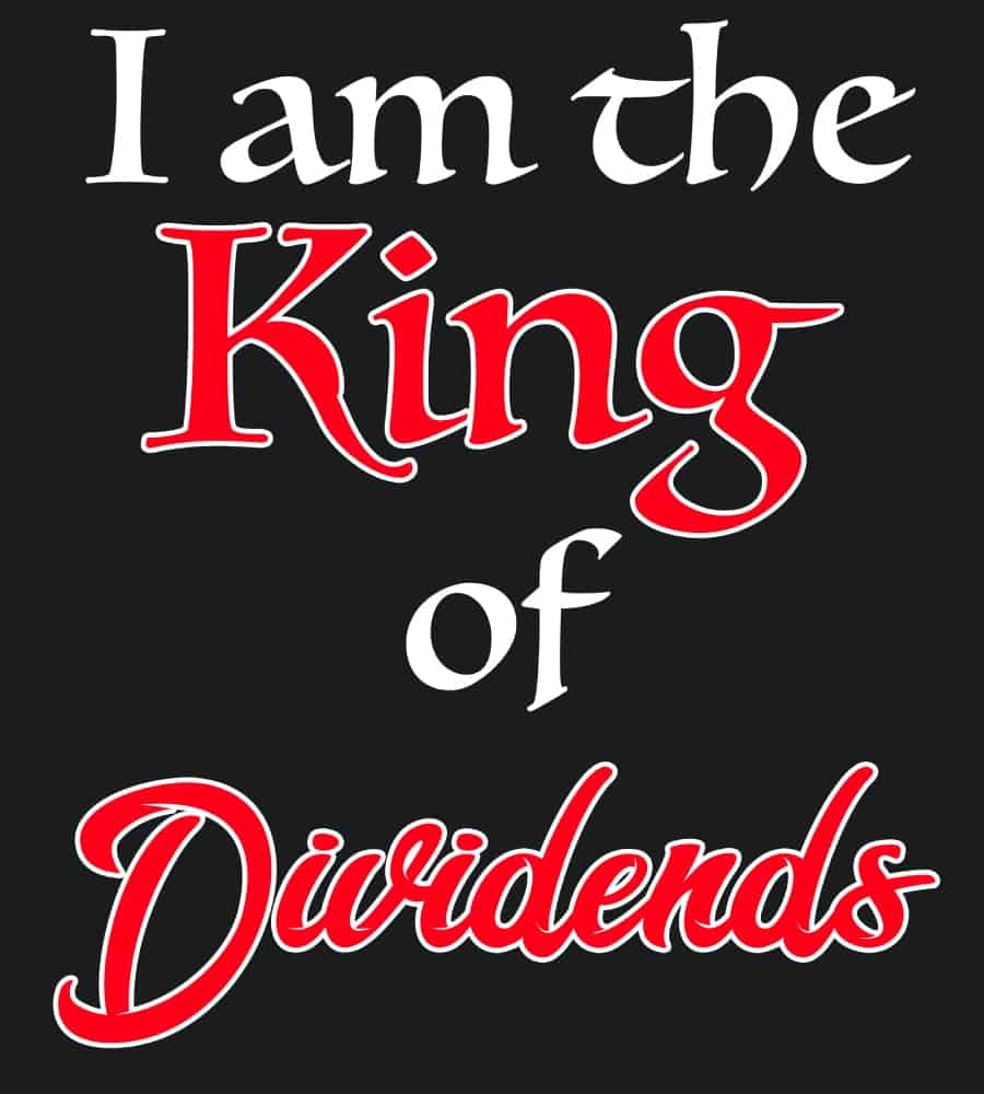 King of Dividends black