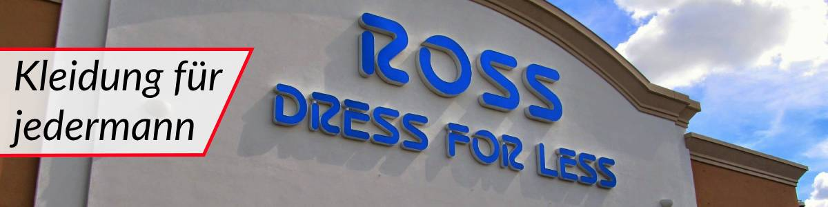 Ross Stores Header