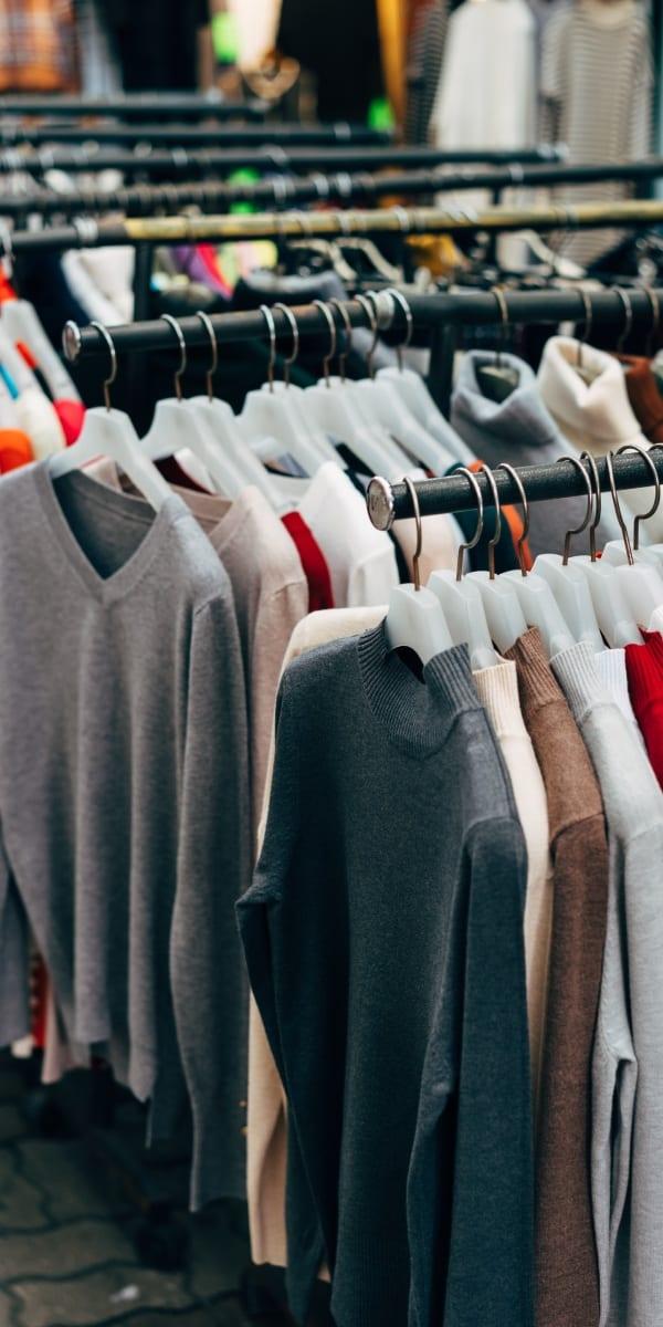 Große Kleidungsauswahl bei Ross Stores
