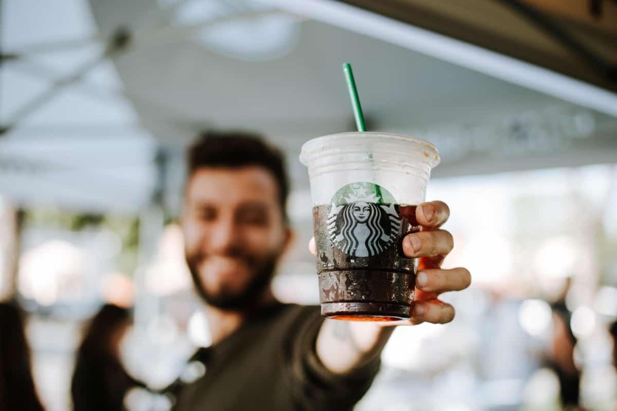 Kaffee Barista von Starbucks
