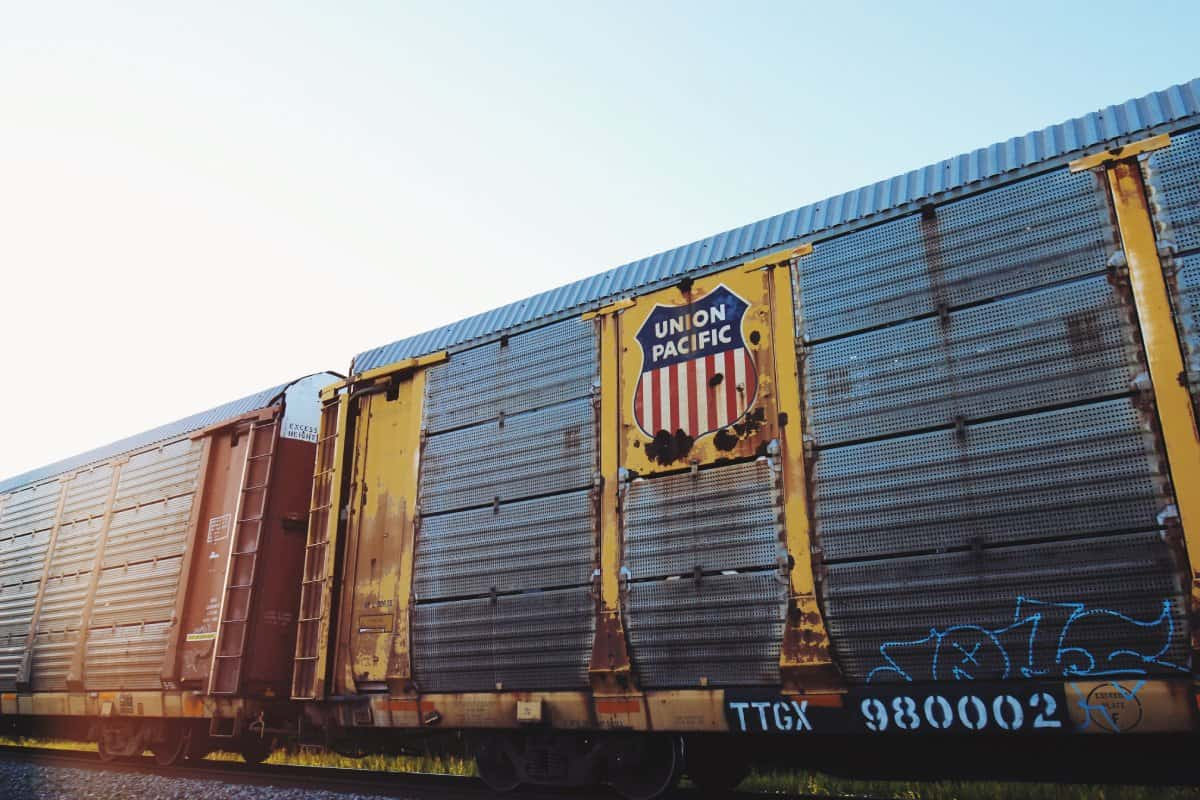 Gütertransport der Union Pacific Railroad