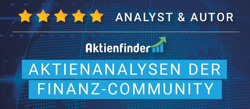 Finanz-Community Analyst und Autor