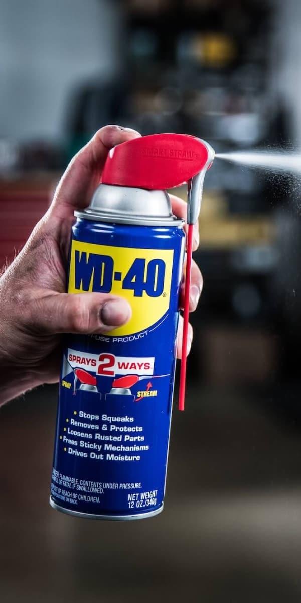 WD-40 hat zahlreiche Anwendungsmöglichkeiten