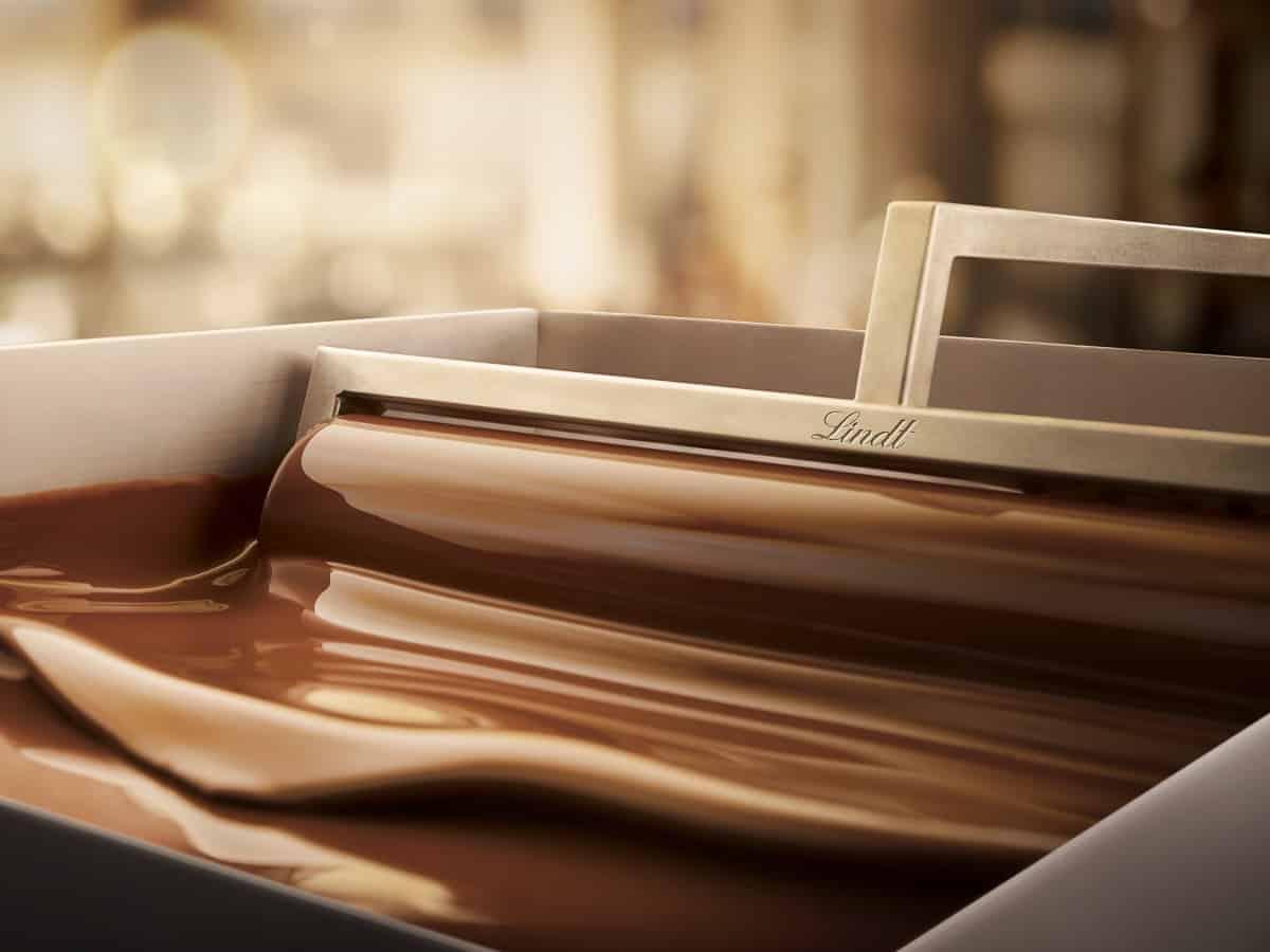 Lindt und Sprüngli's Maschine für zartschmelzende Schokolade