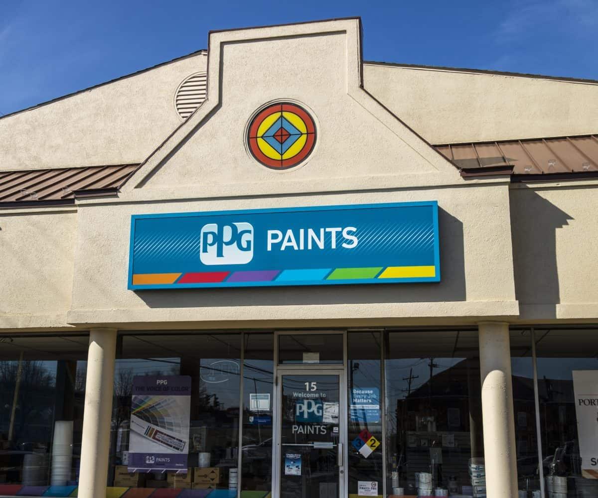 PPG Farbengeschäft für Profis und Heimwerker
