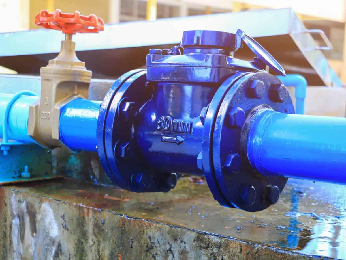 Durchflussmessgerät aus dem Hause Badger Meter