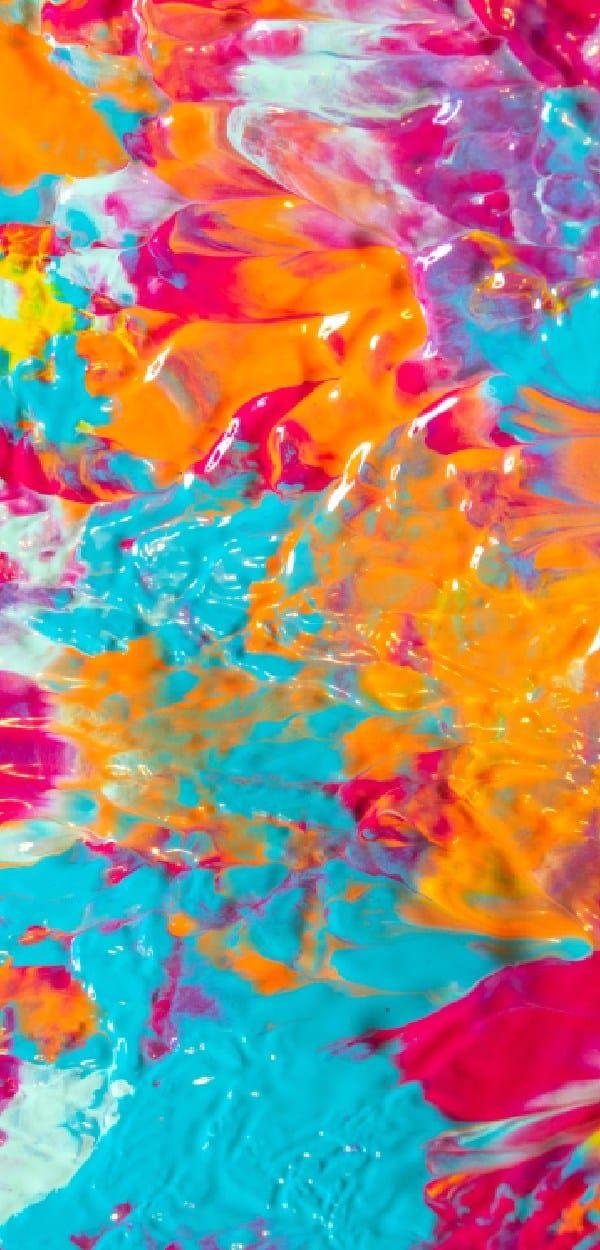 Farbkleckskunst mit PPG Farben